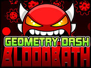 Play Geometry Dash Bloodbath Online
